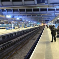 Photo taken at London Blackfriars Railway Station (BFR) by Volker B. on 2/18/2013