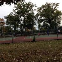 Photo taken at Memorial Park Playground by Ann M. on 10/8/2013