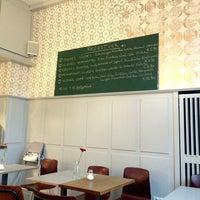 Photo taken at Kleines Café by Nadine on 1/18/2014