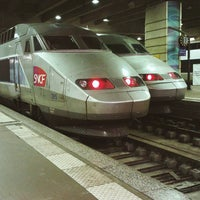 Photo taken at Paris Montparnasse Railway Station by Antonios T. on 12/15/2015