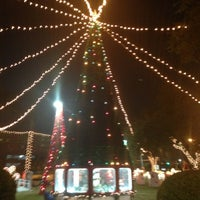 Photo taken at Triangle Park by Mario 😎 on 11/20/2012
