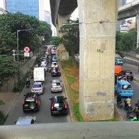 Photo taken at Jalan Casablanca by Akang O. on 2/24/2016