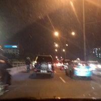 Photo taken at Jalan Casablanca by Akang O. on 3/1/2016