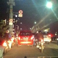 Photo taken at Jalan Casablanca by Akang O. on 3/4/2016
