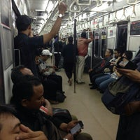 Photo taken at KRL Commuter Line by Akang O. on 1/7/2016