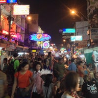 Photo taken at Khao San Road by Mike C. on 1/8/2013
