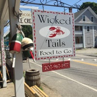 Photo taken at wicked tails kennebunkport maine by Abby S. on 7/11/2015