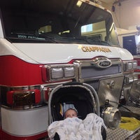 Photo taken at Chappaqua Fire Department by Abby S. on 4/27/2014