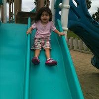 Photo taken at Ocean Park Playground by Gia G. on 10/18/2012