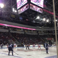 Photo taken at Agganis Arena by Andrej A. on 11/18/2012