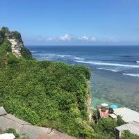 Photo taken at Suluban Beach by Tanti F. on 7/14/2016