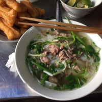 Photo taken at Phở Thìn Bờ Hồ by Loan P. on 2/24/2015