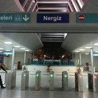 Photo taken at İzban Nergiz İstasyonu by T.c. Cüneyt Ç. on 11/29/2014