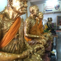 Photo taken at Wat Lahan by bbaitoeey on 10/4/2015