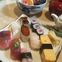 Photo taken at 金寿司 by Hana N. on 8/10/2015