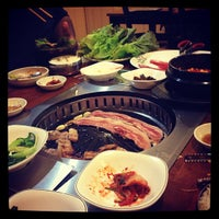 Photo taken at Dong A Korean Restaurant by Tommy Y. on 8/18/2013