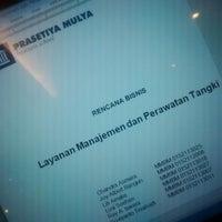 Photo taken at Prasetiya Mulya Business School by Lusi S. on 9/1/2014