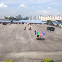 Photo taken at Pusat Latihan Kor Polis Tentera Diraja (PULAPOT) by Afiq F. on 5/11/2015