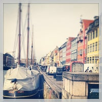 Photo taken at Nyhavnsbroen by Andrew J. on 3/8/2013