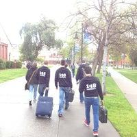 Photo taken at San Jose State University - Swenson Gate by Monty W. on 4/4/2013