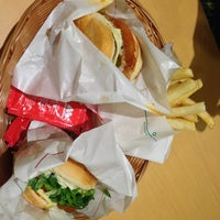 Photo taken at MOS Burger by Amos D. on 6/28/2013