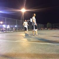 Photo taken at Bostanlı Basketbol Sahası by Beren T. on 8/19/2017