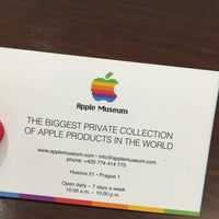 Photo taken at Apple Museum by Markéta Š. on 4/10/2016