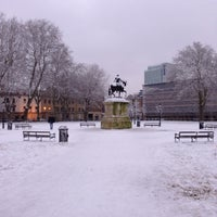 Photo taken at Queen Square by Steve G. on 1/19/2013