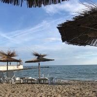 Photo taken at Балчик New Beach by Claudia B. on 7/28/2017