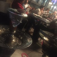 Photo taken at Zaaki Middle Eastern Restaurant and Hookah Cafe by Abdulrahman A. on 5/25/2017