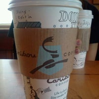 Photo taken at Caribou Coffee by Hannah K. on 10/27/2012
