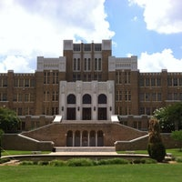 Photo taken at Little Rock Central High School National Historic Site by Becky K. on 6/20/2013