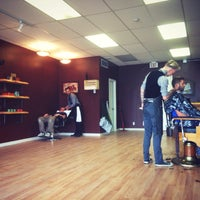 Photo taken at The Gentlemens Shop & Shave Parlour by Justin J. on 7/15/2015