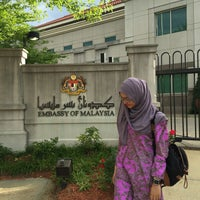 Photo taken at Embassy Of Malaysia by Alya A. on 7/2/2016