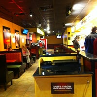 Photo taken at Moe's Southwest Grill by Nathan B. on 2/14/2013