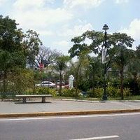 Photo taken at Plaza Las Tres Gracias by Lissette G. on 4/8/2013
