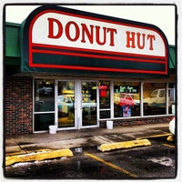 Photo taken at Donut Hut by Kristofer T. on 12/9/2012