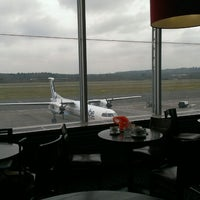 Photo taken at Airport Departure Lounge by Stuart on 2/28/2013
