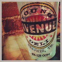 Photo taken at Young Avenue Deli by finnious f. on 4/2/2013