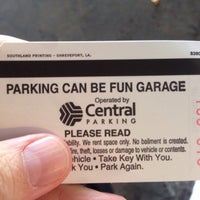 Photo taken at Parking Can Be Fun by finnious f. on 11/27/2013