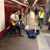 Photo taken at MBTA Harvard Station by S.B. R. on 4/14/2014
