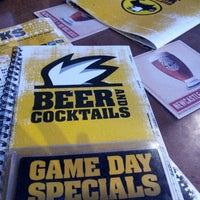 Photo taken at Buffalo Wild Wings by Nia M. on 5/12/2013