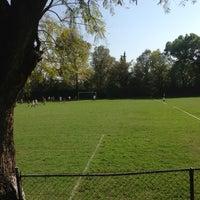 Photo taken at Pumitas C.U., Futbol A.C. by Neko S. on 2/9/2013