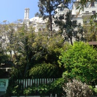 Photo taken at Chateau Marmont Pool by Ana G. on 4/27/2013