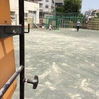 Photo taken at 長谷戸小学校 by shinji y. on 5/31/2014