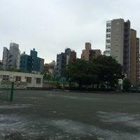 Photo taken at 長谷戸小学校 by shinji y. on 6/22/2014