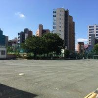 Photo taken at 長谷戸小学校 by shinji y. on 7/11/2014