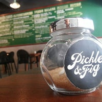 Photo taken at Pickle & Fig by Daniel &. on 7/12/2013