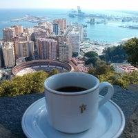 Photo taken at Hotel Parador de Málaga Gibralfaro by Rusko E. on 8/24/2013