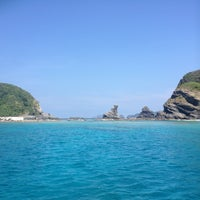 Photo taken at 慶良間諸島 by M. Y. on 9/7/2013